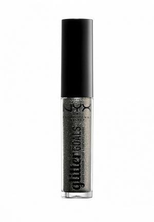 Тени для век Nyx Professional Makeup. Цвет: серебряный