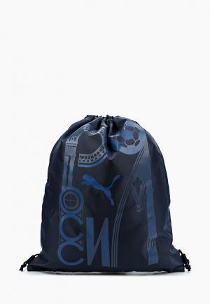 Мешок PUMA. Цвет: синий
