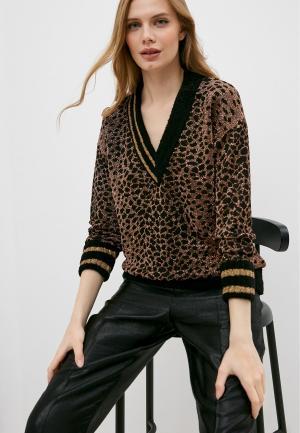 Пуловер Pinko. Цвет: коричневый