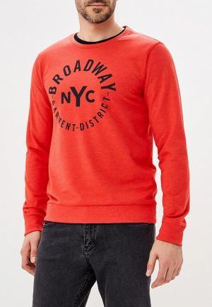 Свитшот Broadway. Цвет: красный