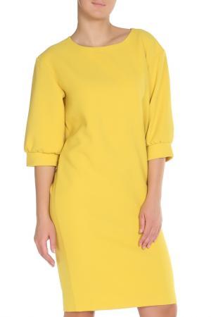 Платье Cyrille Gassiline. Цвет: желтый