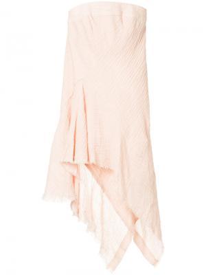 Топ-бюстье Faithful Keeper Kitx. Цвет: розовый и фиолетовый