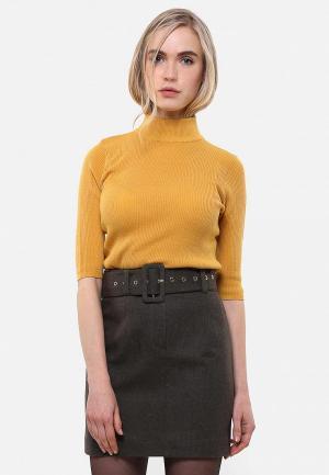 Водолазка Sana.moda. Цвет: желтый