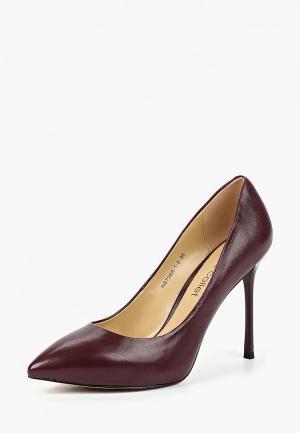 Туфли Marie Collet. Цвет: бордовый
