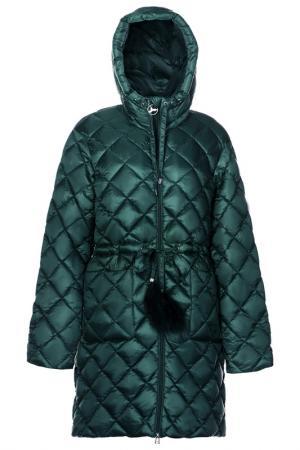Пальто ODRI Mio. Цвет: зеленый