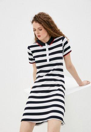 Платье Luhta. Цвет: разноцветный