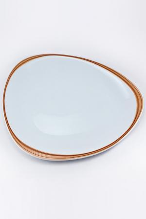 Тарелка 35х30 см Royal Porcelain. Цвет: белый