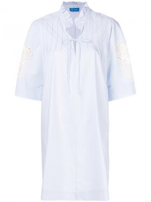 Платье Langley Mih Jeans. Цвет: синий