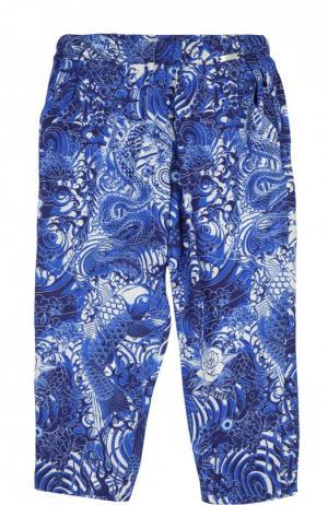 Брюки Jean Paul Gaultier. Цвет: синий