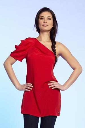 Блуза Apart. Цвет: красный