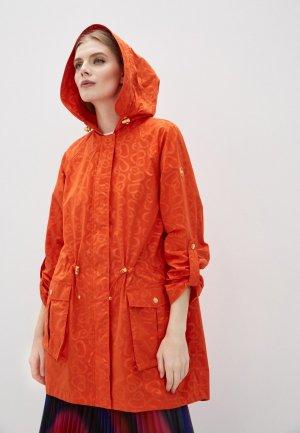 Плащ Escada Sport. Цвет: оранжевый