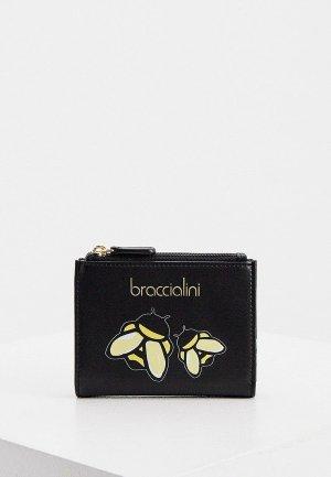 Кошелек Braccialini. Цвет: черный