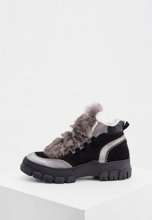 Ботинки Pollini. Цвет: черный