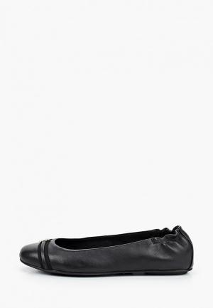 Балетки Tommy Hilfiger. Цвет: черный