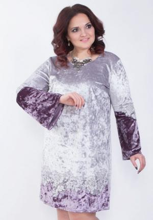 Платье Wisell. Цвет: фиолетовый