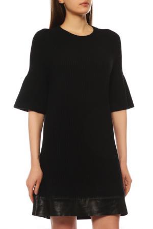 Платье MONCLER. Цвет: черный