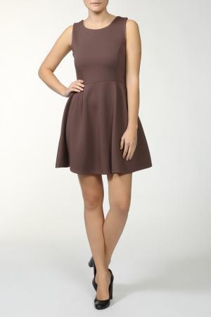 Платье Fullah Sugah. Цвет: коричневый