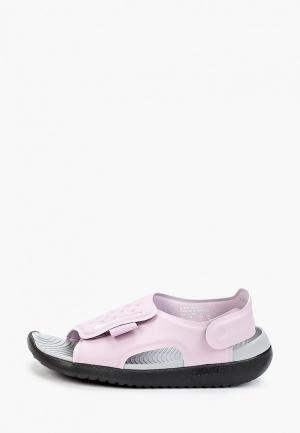 Сандалии Nike. Цвет: фиолетовый