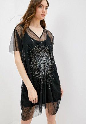 Платье пляжное Twinset Milano. Цвет: черный