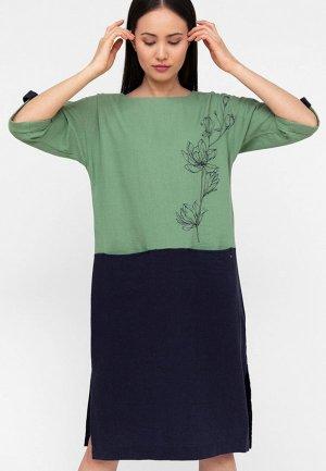 Платье Finn Flare. Цвет: разноцветный