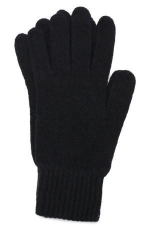 Шерстяные перчатки Daniele Fiesoli. Цвет: темно-синий