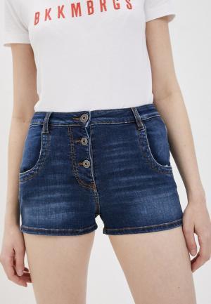 Шорты джинсовые Bikkembergs. Цвет: синий