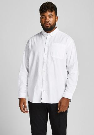 Рубашка Jack & Jones. Цвет: белый