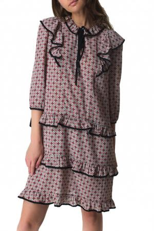 Платье DENNY ROSE. Цвет: розовый