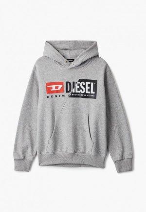 Худи Diesel. Цвет: серый