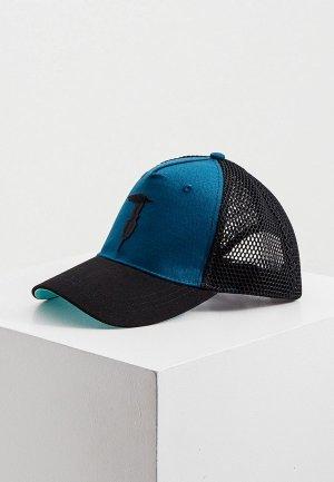 Бейсболка Trussardi. Цвет: синий