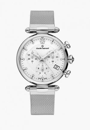 Часы Claude Bernard. Цвет: серебряный