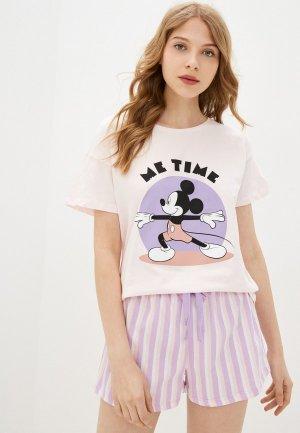 Пижама Koton. Цвет: розовый