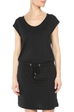 Платье Drywash. Цвет: черный