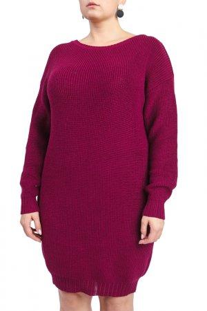 Платье LACY. Цвет: фиолетовый