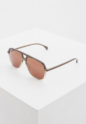 Очки солнцезащитные Gucci. Цвет: серый