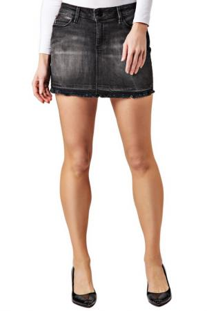 Skirt CROSS JEANS. Цвет: серый
