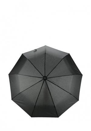 Зонт складной Fabretti. Цвет: черный