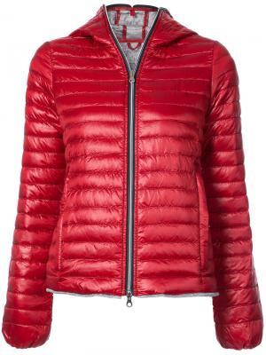 Дутая куртка Eeria Duvetica. Цвет: красный