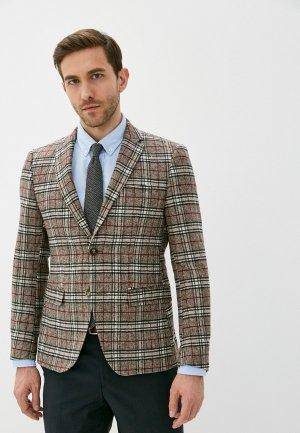 Пиджак Paul Martins Martin's. Цвет: коричневый