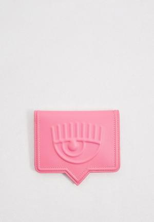 Обложка для паспорта Chiara Ferragni Collection. Цвет: розовый