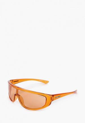 Очки солнцезащитные Arnette. Цвет: оранжевый
