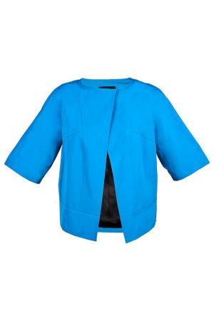 Жакет DEREK LAM. Цвет: голубой