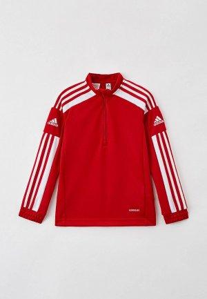 Олимпийка adidas. Цвет: красный