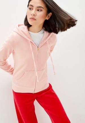 Толстовка Juicy Couture. Цвет: розовый