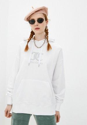 Худи Juicy Couture. Цвет: белый