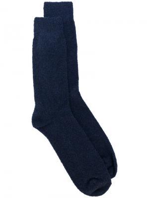 Классические носки Howlin Howlin'. Цвет: синий