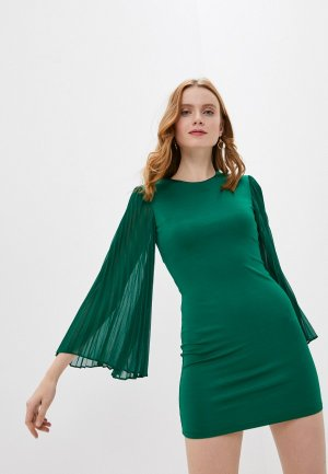 Платье Alice + Olivia. Цвет: зеленый