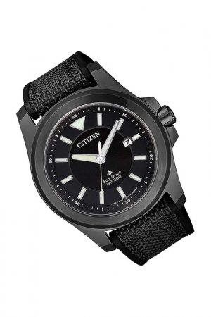 Наручные часы CITIZEN. Цвет: черный