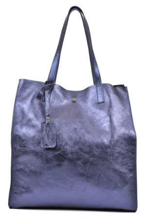 Bag LUISA VANNINI. Цвет: blue