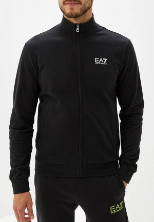 Олимпийка EA7. Цвет: черный